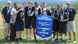U16 Champions Coquitlam Falcons